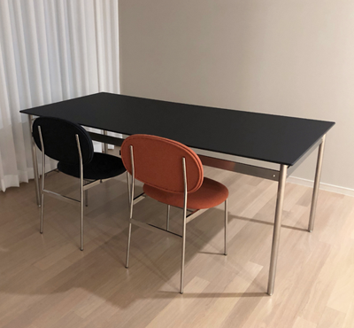FENIX, DOT TABLE - stainless steel